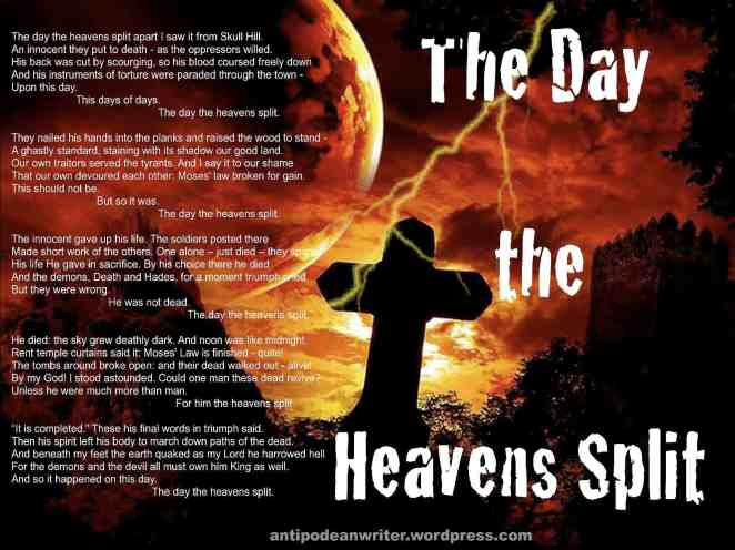 1600x1200 The Day the Heavens Split