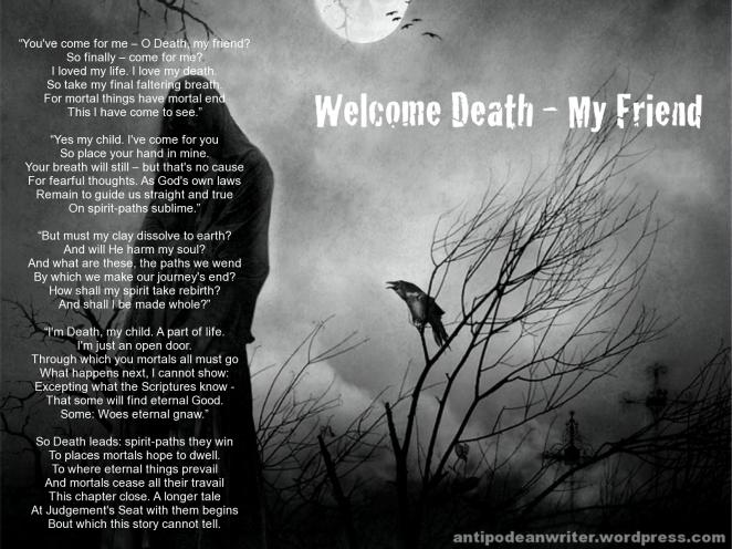 1600x1200 Welcome Death My Friend