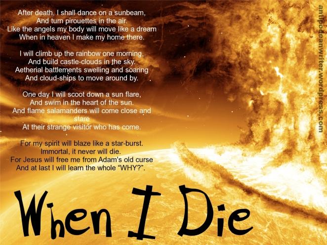 1600x1200 When I Die