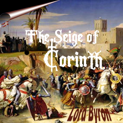 Art Cover for Byron's Siege of Corinth