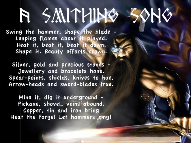 1600x1200 A Smithing Song