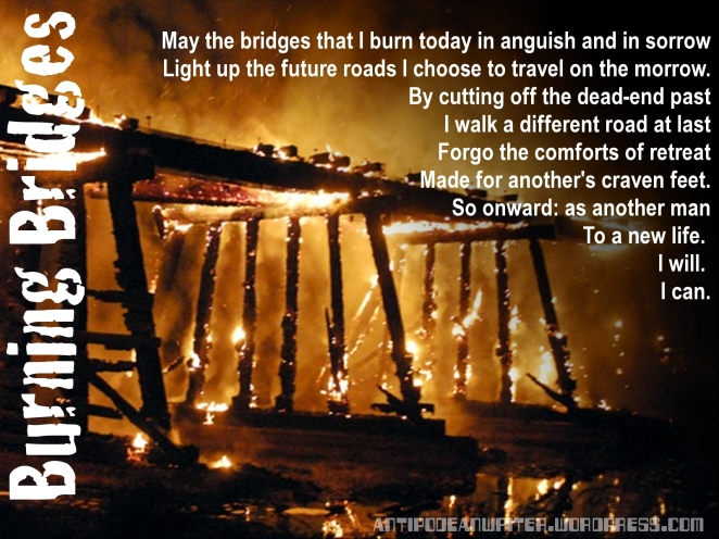 Burning Bridges Wallpaper